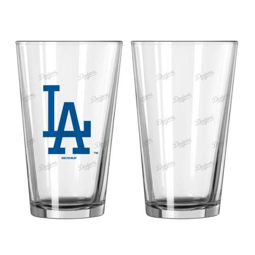 Los Angeles Dodgers 2-pc. Pint Glass Set