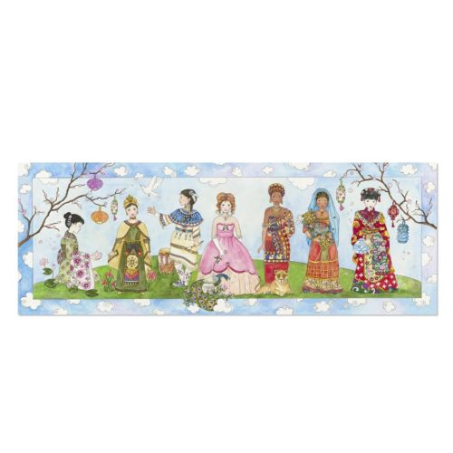 Melissa and Doug Princesses of the World 48-pc. Floor Puzzle