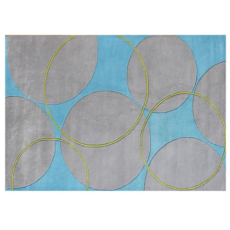Alliyah Rugs ZnZ Circles Rug - 5' x 8'