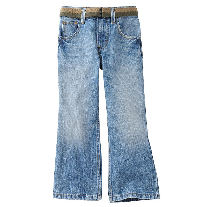 Boys 4-7x Lee Dungarees Relaxed Bootcut Jeans