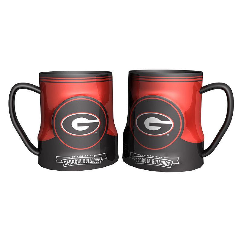 Georgia Bulldogs 2-pc. Ceramic Mug Set