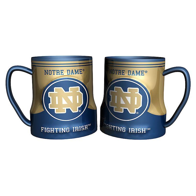 Notre Dame Fighting Irish 2-pc. Ceramic Mug Set