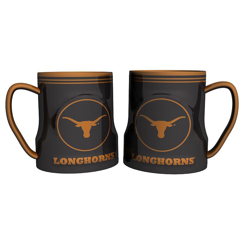 Texas Longhorns 2-pc. Ceramic Mug Set