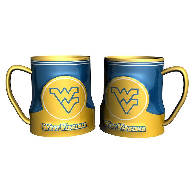 West Virginia Mountaineers 2-pc. Ceramic Mug Set