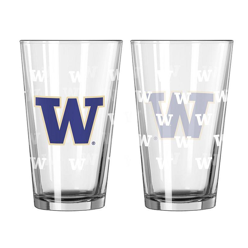 Washington Huskies 2-pc. Pint Glass Set