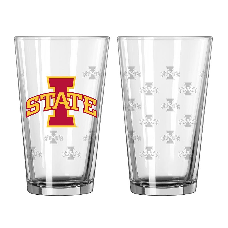 Iowa State Cyclones 2-pc. Pint Glass Set