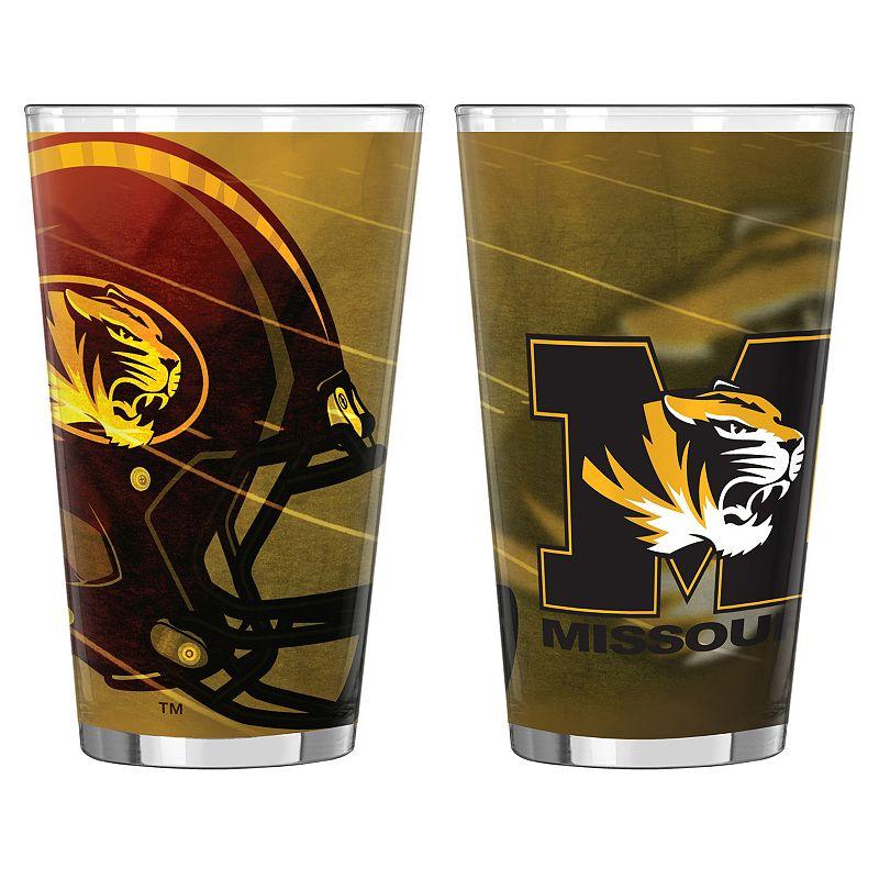 Missouri Tigers 2-pc. Pint Glass Set