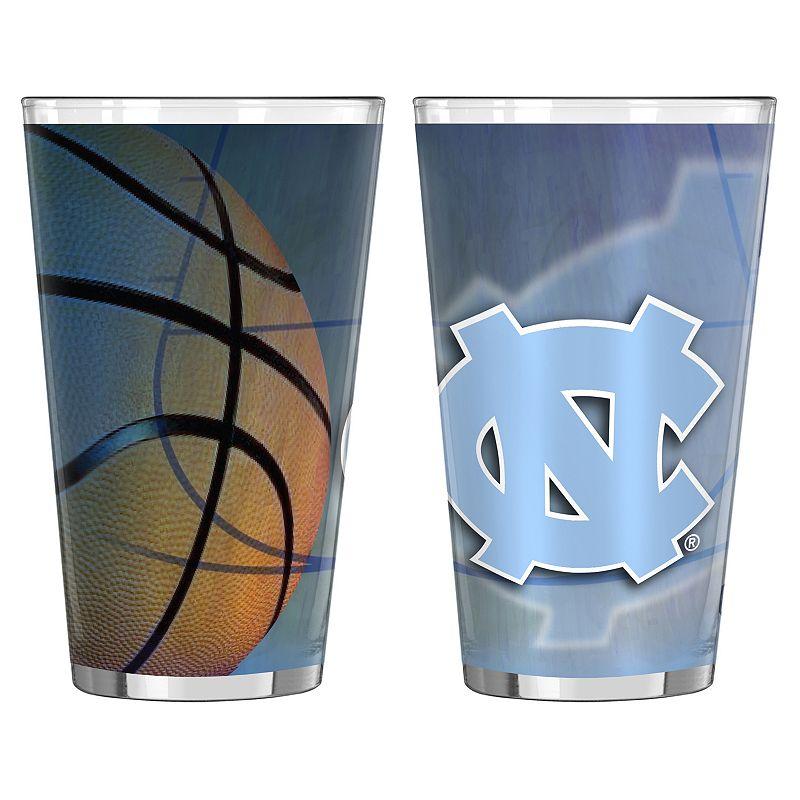 North Carolina Tar Heels 2-pc. Pint Glass Set