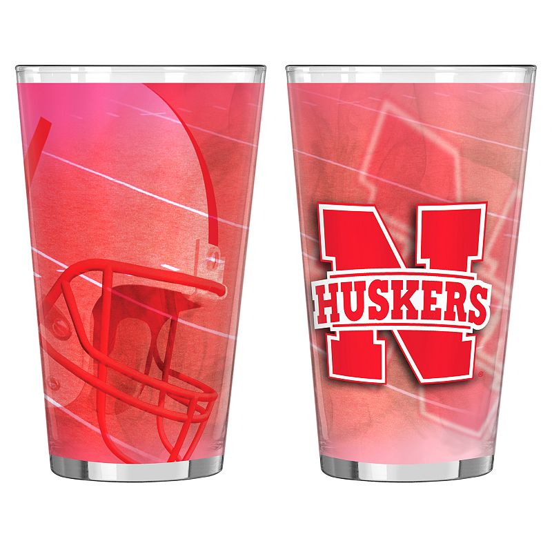 Nebraska Cornhuskers 2-pc. Pint Glass Set