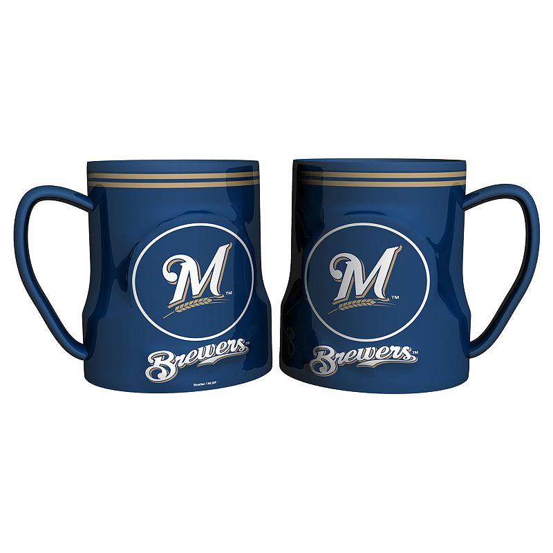 Milwaukee Brewers 2-pc. Ceramic Mug Set