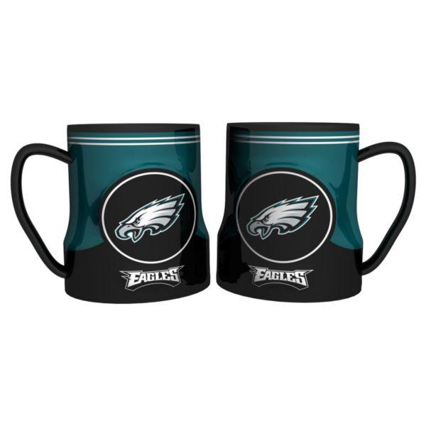 Philadelphia Eagles 2-pc. Ceramic Mug Set