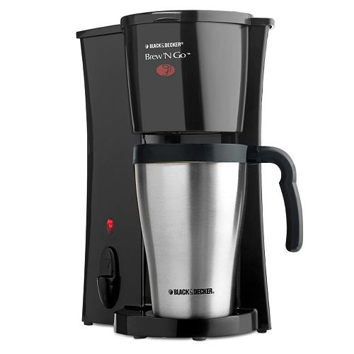 Black And Decker Coffee Maker Will Not Brew : Black and Decker Brew N Go Coffee Maker