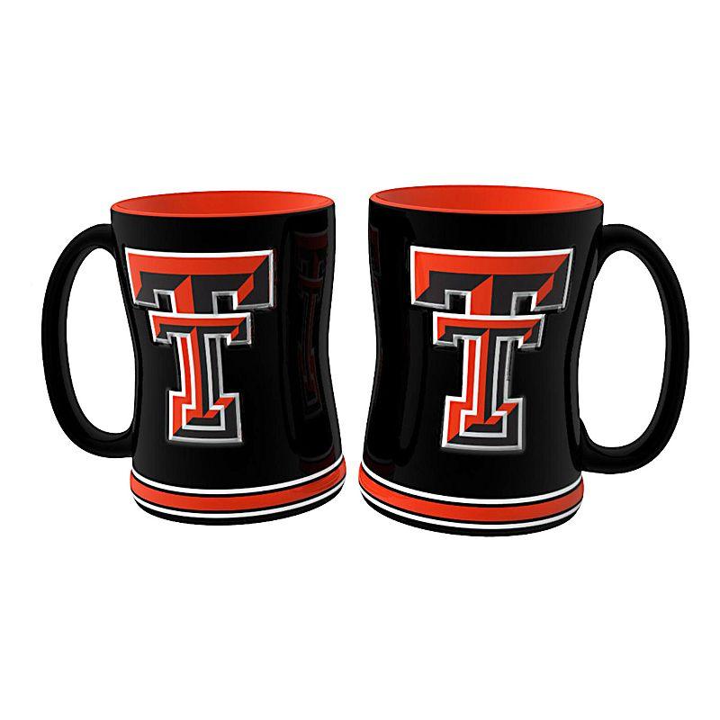 Texas Tech Red Raiders 2-pc. Relief Coffee Mug Set