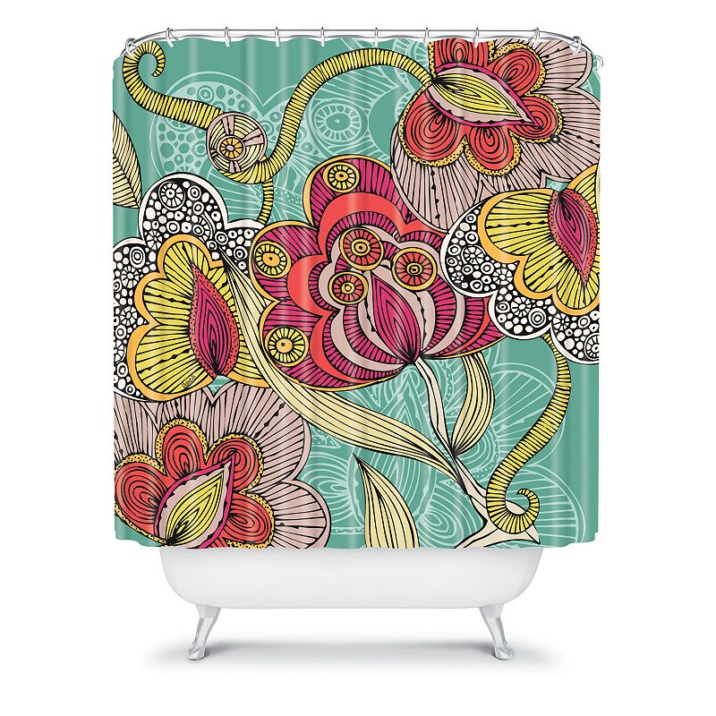 DENY Designs Valentina Ramos Beatriz Fabric Shower Curtain