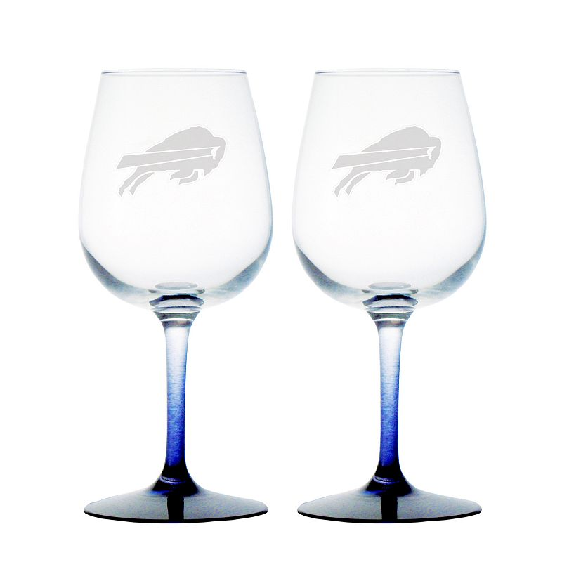 Buffalo Bills 2-pc. Wine Glass Set