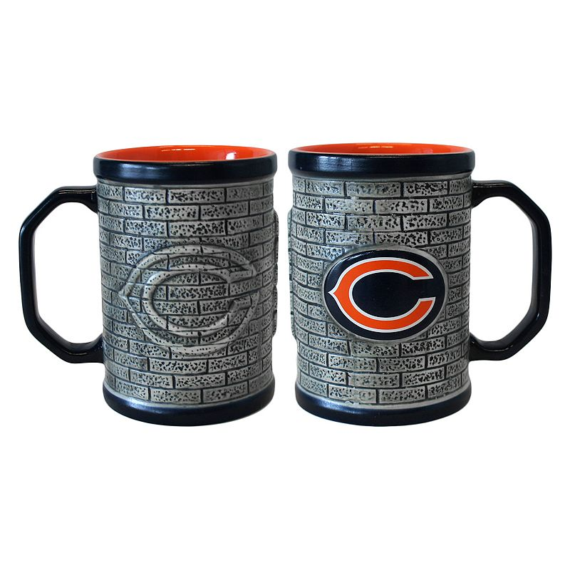 Chicago Bears 2-pc. Stonewall Coffee Mug Set