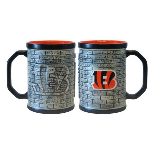 Cincinnati Bengals 2-pc. Stonewall Coffee Mug Set