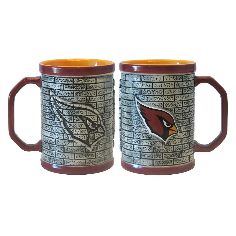 Arizona Cardinals 2-pc. Stonewall Coffee Mug Set