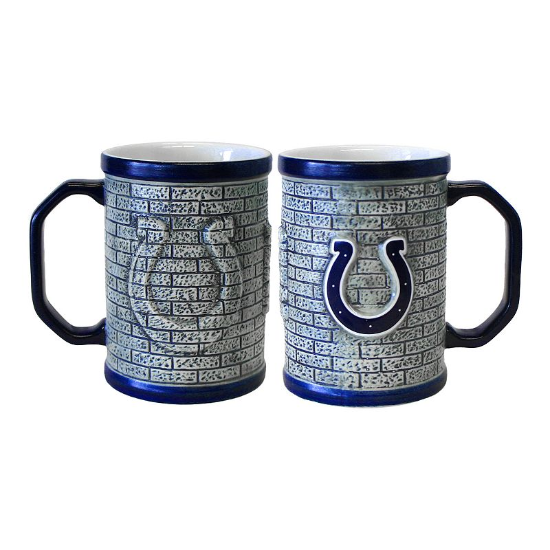 Indianapolis Colts 2-pc. Stonewall Coffee Mug Set