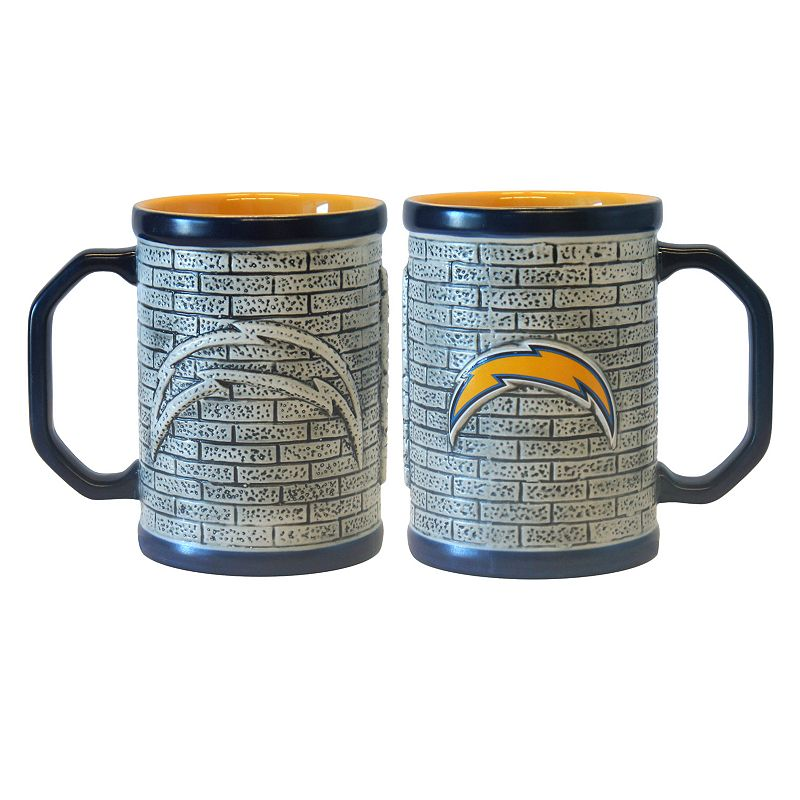 San Diego Chargers 2-pc. Stonewall Coffee Mug Set