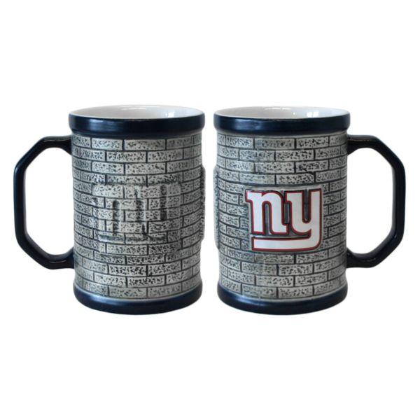 New York Giants 2-pc. Stonewall Coffee Mug Set