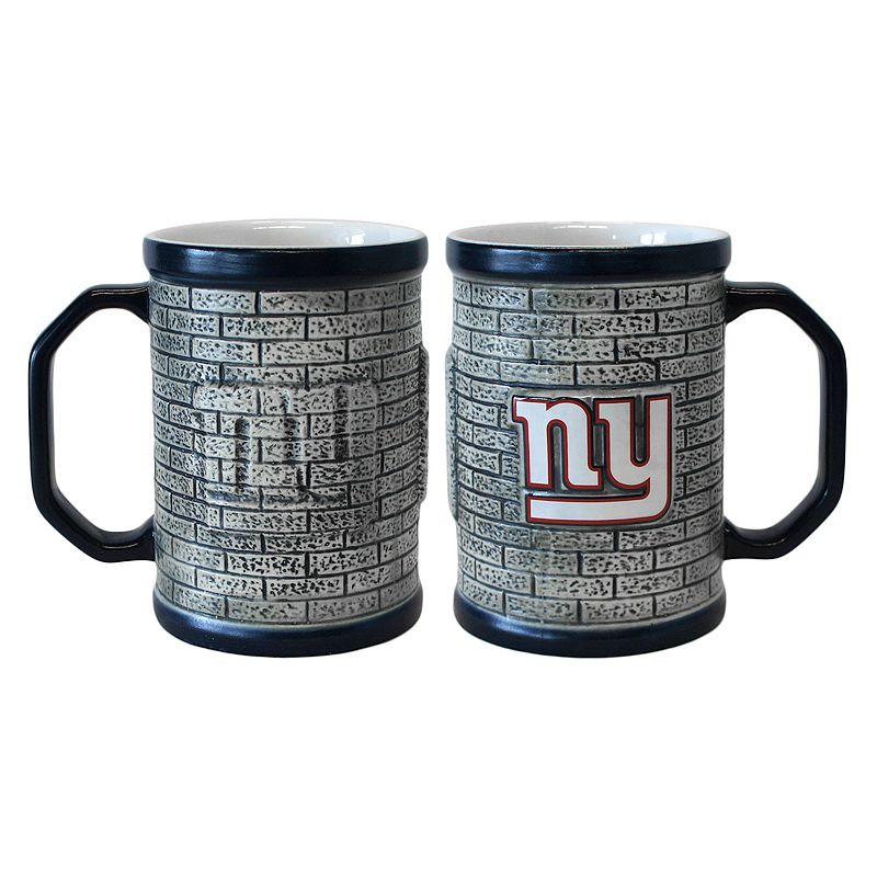 New York Giants 2-pc. Stonewall Coffee Mug Set