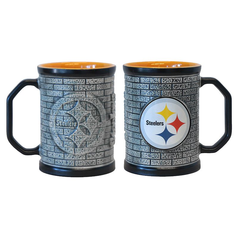 Pittsburgh Steelers 2-pc. Stonewall Coffee Mug Set