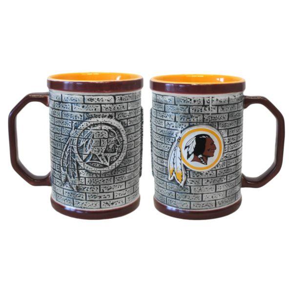 Washington Redskins 2-pc. Stonewall Coffee Mug Set