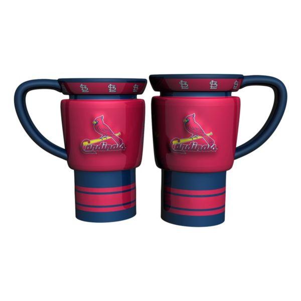 St. Louis Cardinals 2-pc. Travel Coffee Mug Set