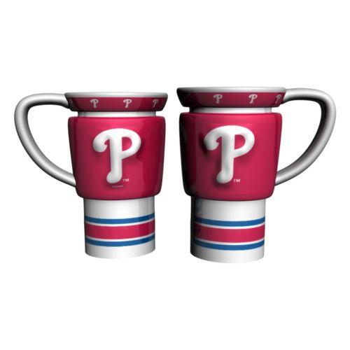 Philadelphia Phillies 2-pc. Travel Coffee Mug Set