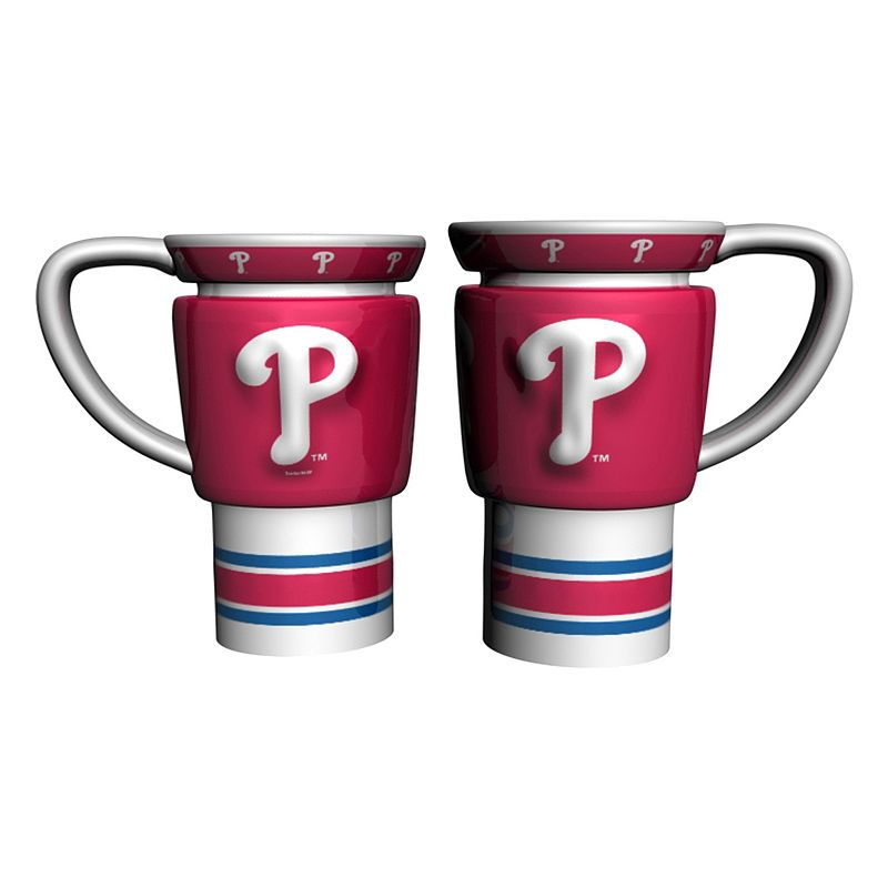 Philadelphia Phillies 2-pc. Travel Coffee Mug Set