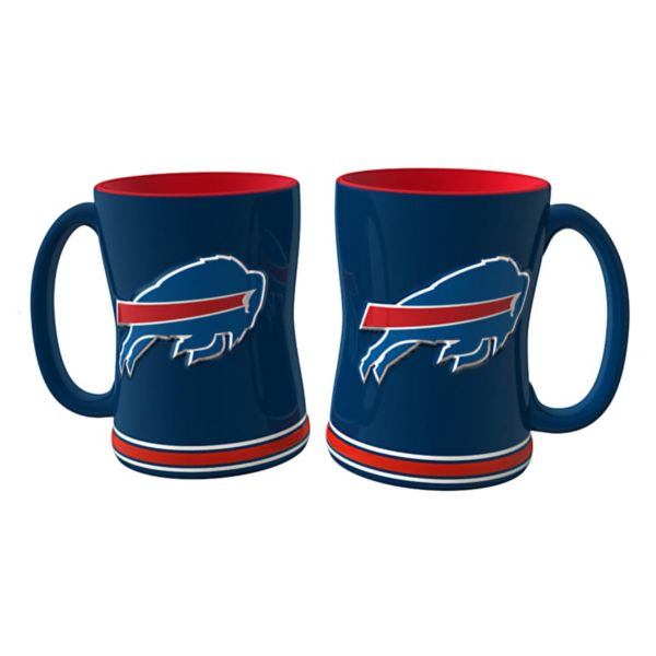 Buffalo Bills 2-pc. Relief Coffee Mug Set
