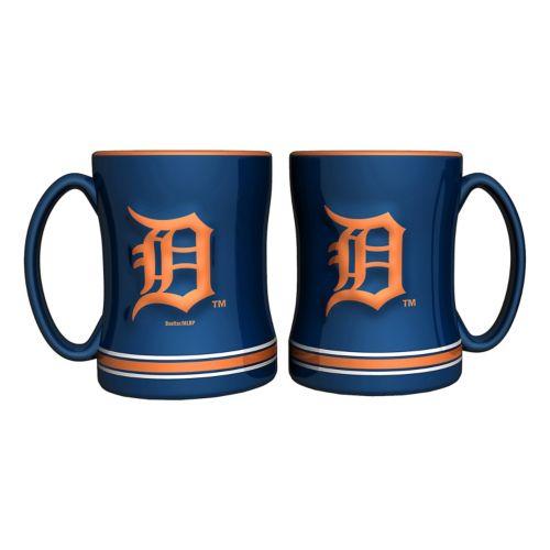 Detroit Tigers 2-pc. Relief Coffee Mug Set