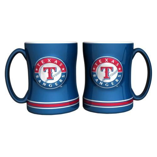Texas Rangers 2-pc. Relief Coffee Mug Set