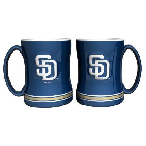San Diego Padres 2-pc. Relief Coffee Mug Set