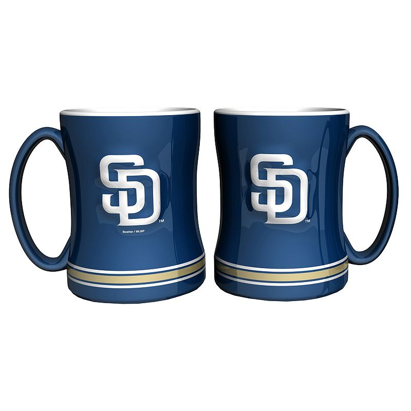 San Diego Padres 2-pc. Relief Coffee Mug Set