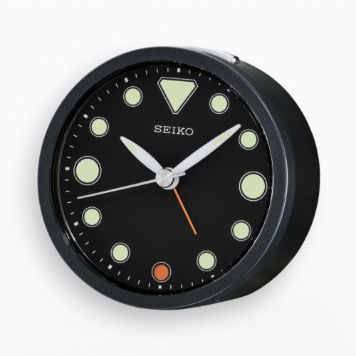 Seiko Warden Metal Bedside Alarm Clock - QHE096JLH