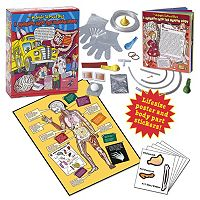 The Young Scientists Club The Magic School Bus: Journey into the Human Body Science Kit