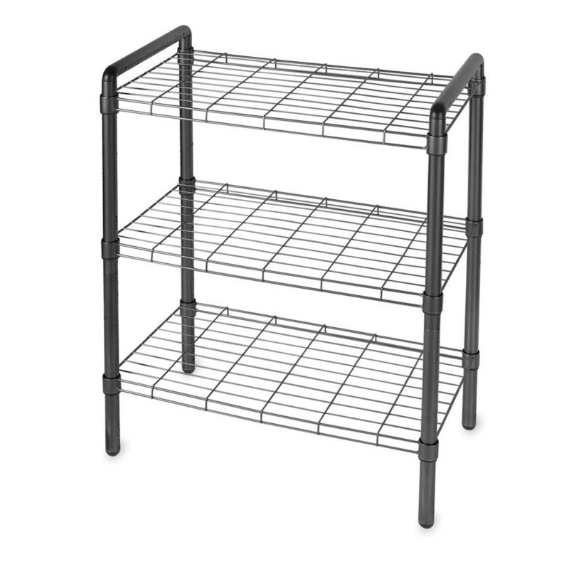 The Art of Storage 3-Tier Storage Rack, Black