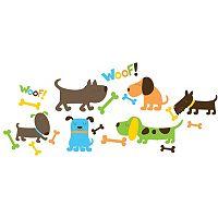 WallPops Puppy Love Wall Decals