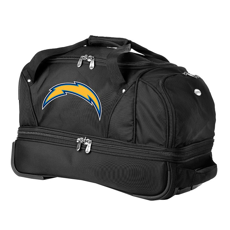 San Diego Chargers 22-in. Wheeled Drop-Bottom Duffel Bag