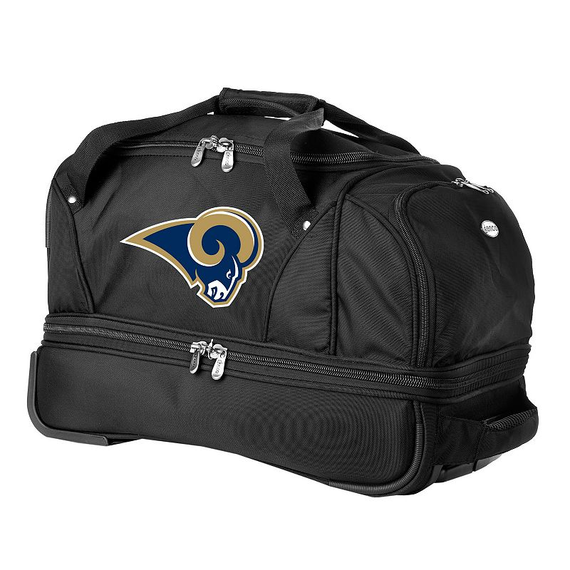 St. Louis Rams 22-in. Wheeled Drop-Bottom Duffel Bag