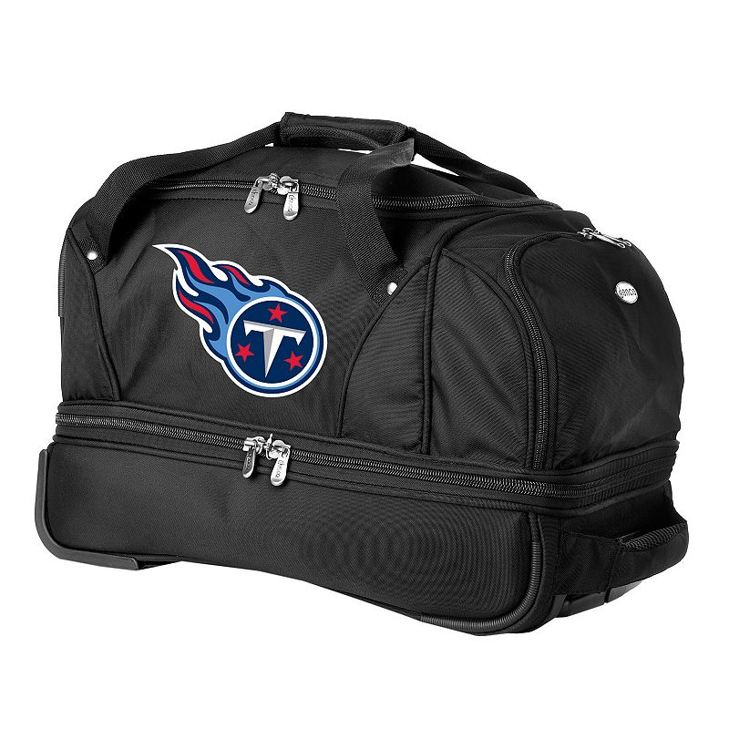 Tennessee Titans 22-in. Wheeled Drop-Bottom Duffel Bag