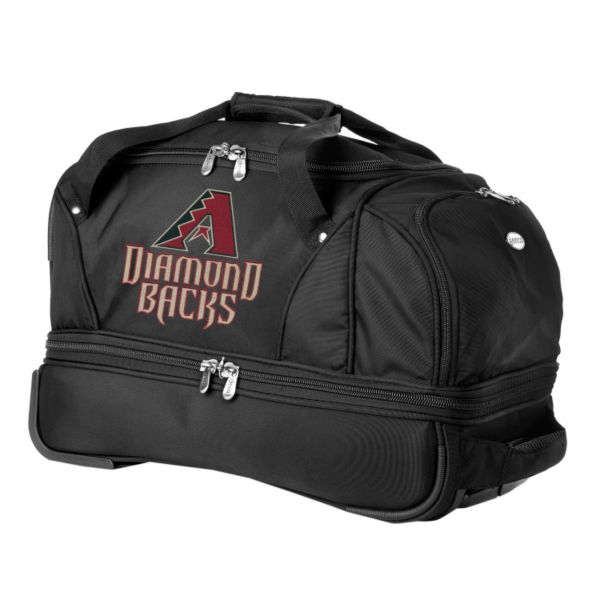 Arizona Diamondbacks 22-in. Wheeled Drop-Bottom Duffel Bag