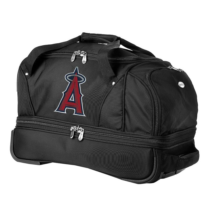 Los Angeles Angels 22-in. Wheeled Drop-Bottom Duffel Bag