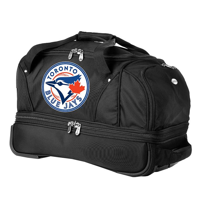 Toronto Blue Jays 22-in. Wheeled Drop-Bottom Duffel Bag