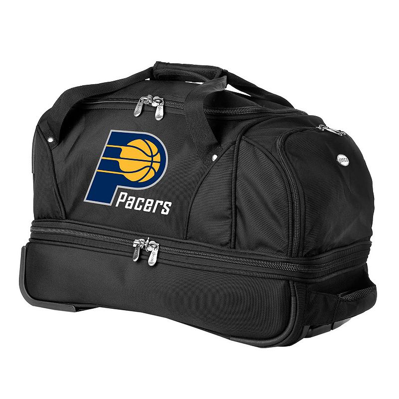 Indiana Pacers 22-in. Wheeled Drop-Bottom Duffel Bag