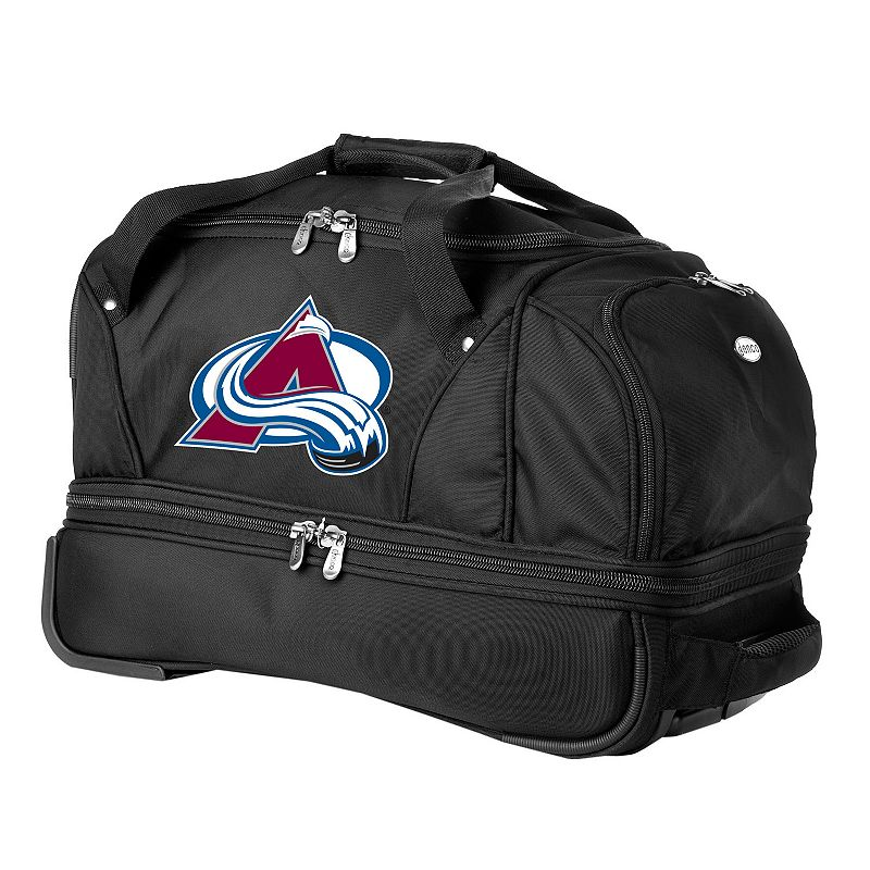 Colorado Avalanche 22-in. Wheeled Drop-Bottom Duffel Bag
