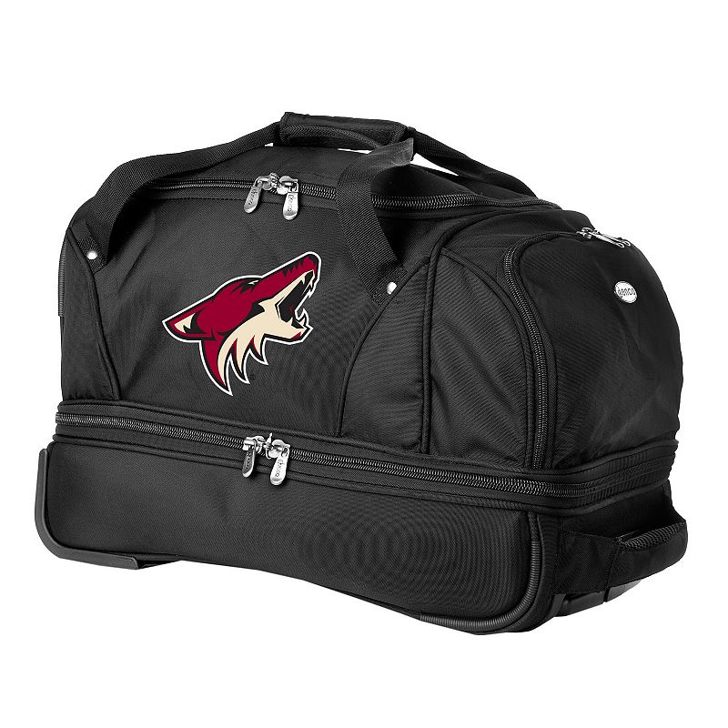 Arizona Coyotes 22-in. Wheeled Drop-Bottom Duffel Bag
