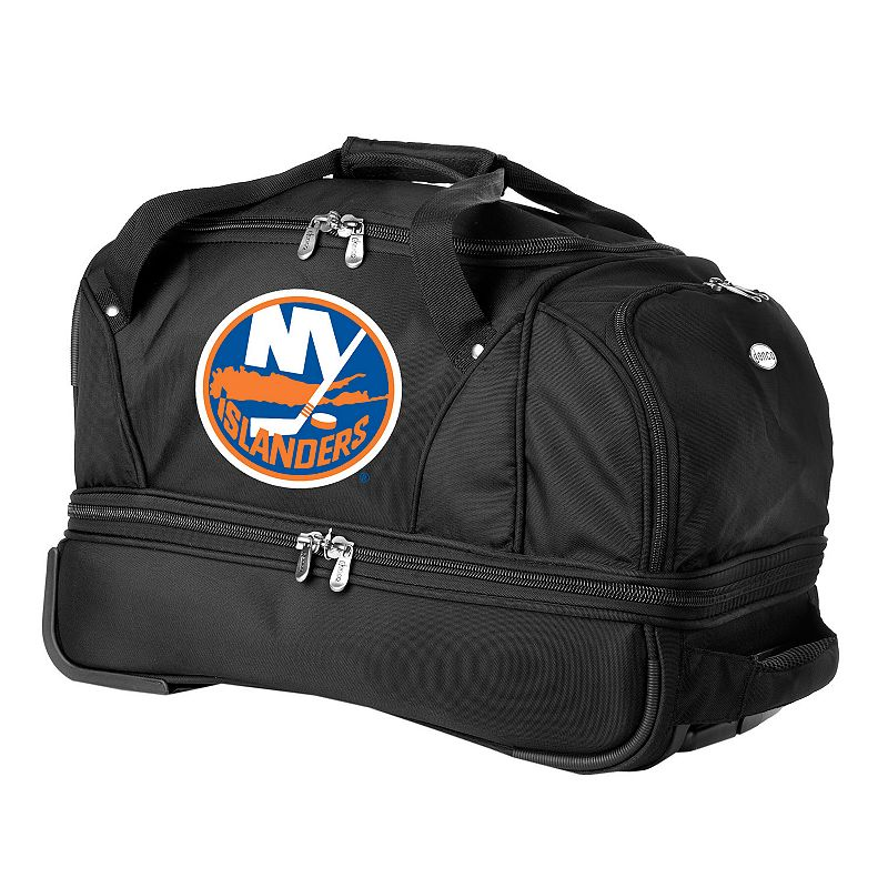 New York Islanders 22-in. Wheeled Drop-Bottom Duffel Bag